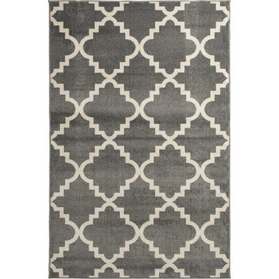 Winston Porter Sitz Geometric Stone Snow Indoor Outdoor Area Rug Well Woven Tropical Area Rugs Area Rugs