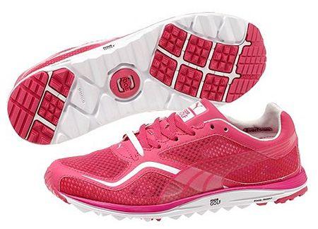 Puma Faas Lite Mesh Spikeless Women s Golf Shoes - Beetroot Pink White  1240512 from  golfskipin 82e1b343e5