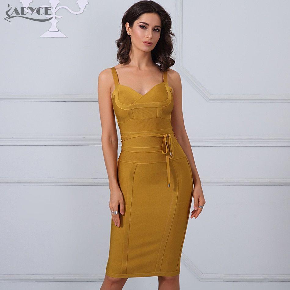 89c2ed0a87e clothing women summer dress Adyce Bandage Dress 2018 Sexy Celebrity Party  Dress Nightclub Spaghetti Strap Bodycon Dress Vestidos