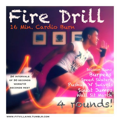 Quick Strategies In Strength Training Uncovered: Fire Drill! 16 Minute Dorm Room H.I.I.T Cardio BURN Quick