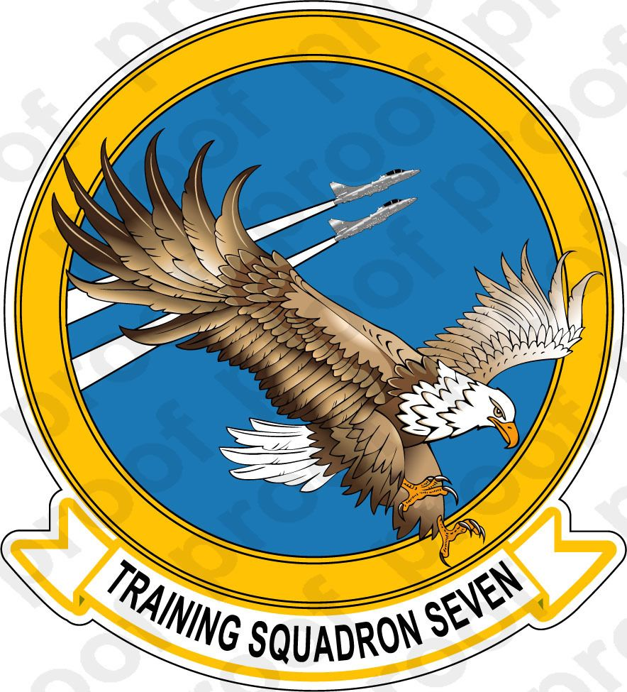 M.C. Graphic Decals - STICKER USN VT 7 Eagles, $3.00 (http://www.mcgraphicdecals.com/sticker-usn-vt-7-eagles/)