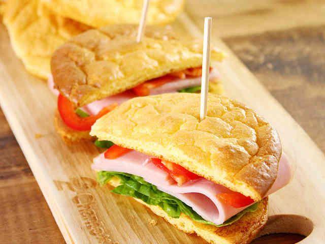 クラウドブレッド。ダイエットパン!の画像