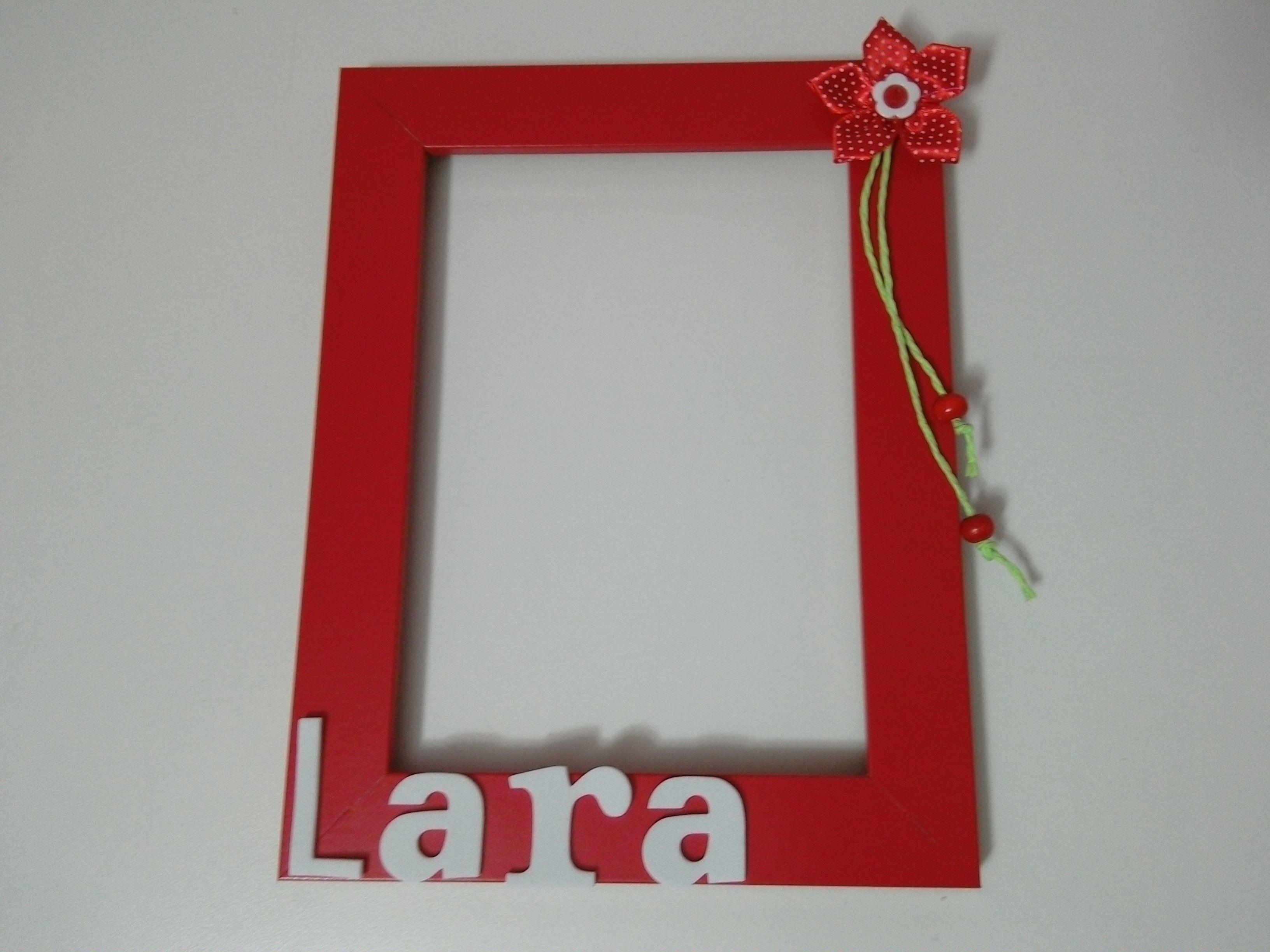 Cornici Bambini ~ Cornice portafoto fatta a mano personalizzabile con il nome dei