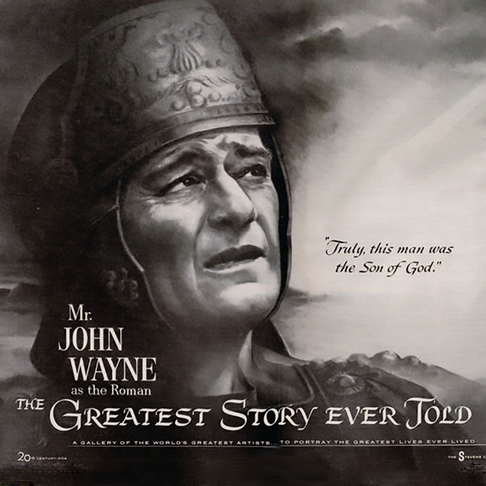 There S A Legend That Actor John Wayne Was Asked To Say His Line With Awe Truly This Man Was The Son Of God His V Great Stories Actor John Christian Author