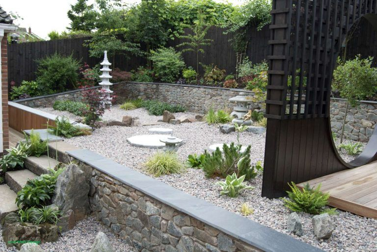 Small Japanese Garden Style Low Maintenance Landscaping