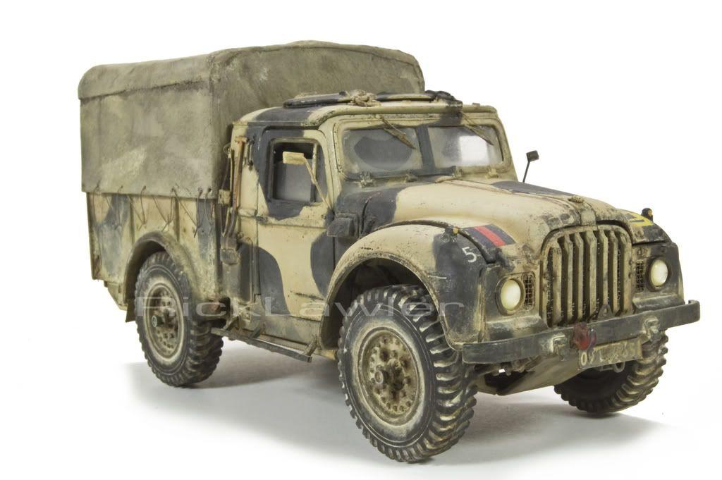 Humber 1 Ton Truck - planetArmor