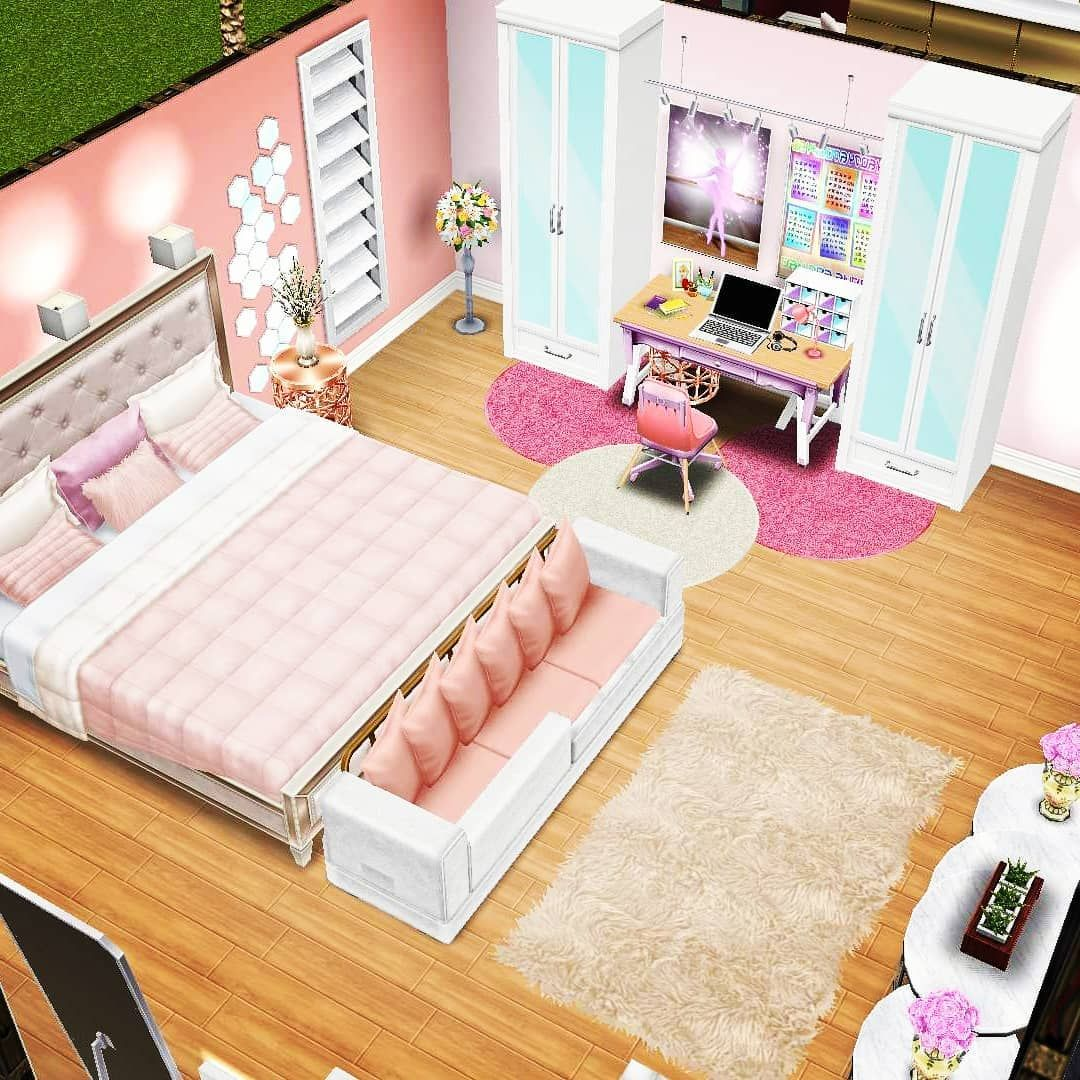 The Sims Freeplay On Instagram Quarto Adolescente Tumblr Casa Sims Ideias De Decoracao Para Casa Decoracao De Casa