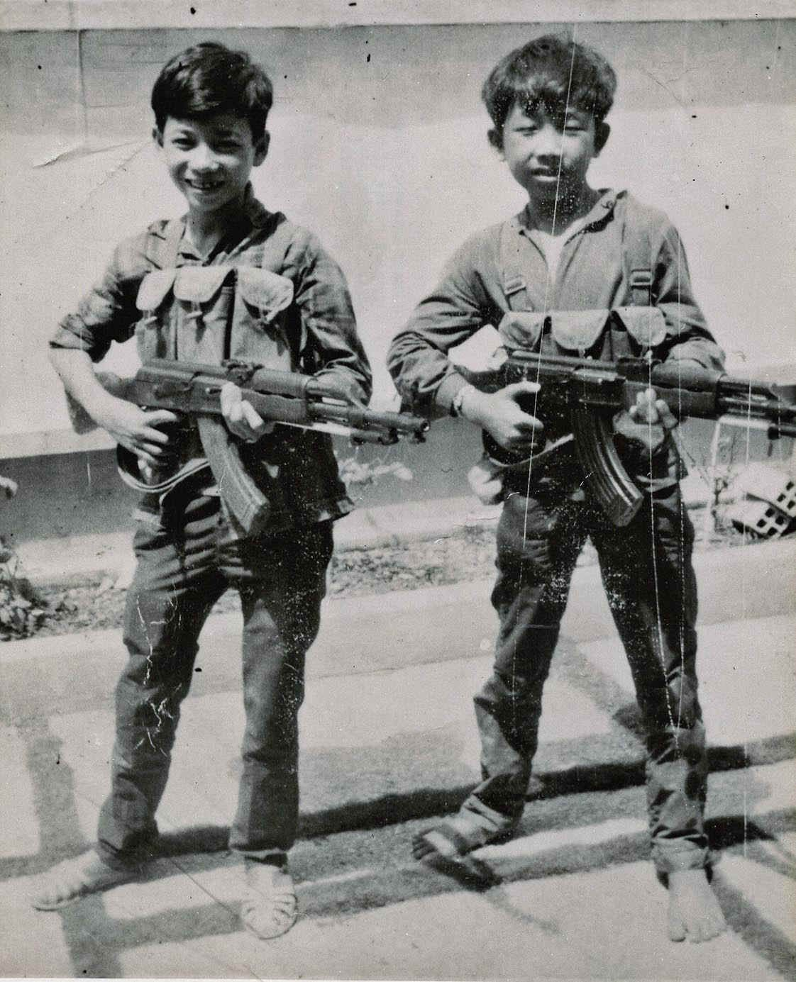Viet Cong Child Soldiers. With All The Talk About Liberty