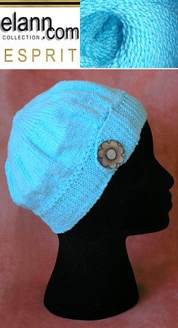 Pi Topper Chemo Cap Knitting Pinterest Knit Hats Free Pattern