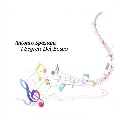 Antonio SpazianiI Segreti Del Bosco-(BMR012)-WEB-2016-WUS