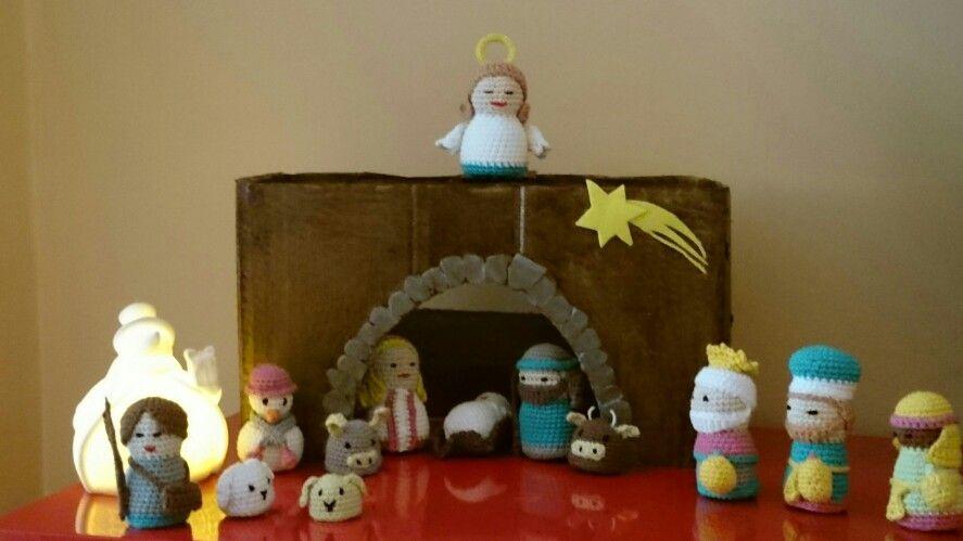 Amigurumi Navidad Nacimiento : Belén nacimiento amigurumi navidad manualidades amigurumis