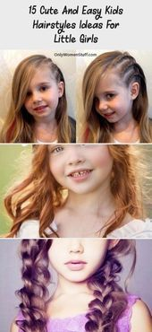 15 Cute And Easy Kids Hairstyles Ideas For Little Girls - health and diet fitness  Simple Hairstyle...