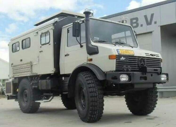 Offroad Wohnmobil Unimog