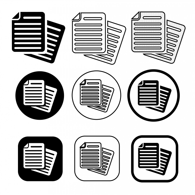 Simple Document File Icon Paper Doc Sign Document Icons File Icons Paper Icons Png And Vector With Transparent Background For Free Download Icon Free Vector Illustration Vector Free