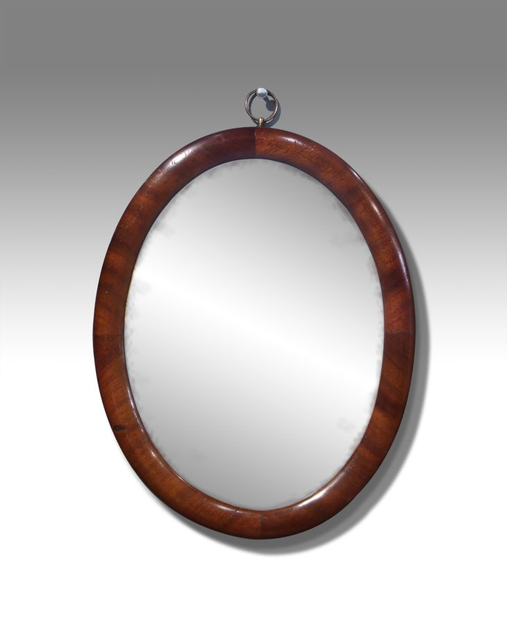 Oval Mirror Victorian