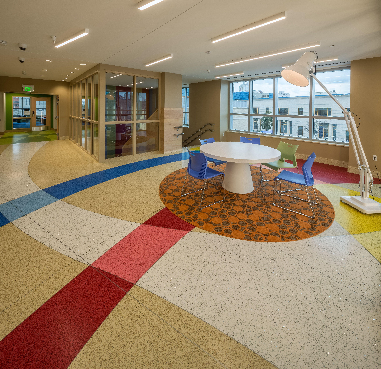 Terrazzo Flooring At Gateway Center By Master Terrazzo