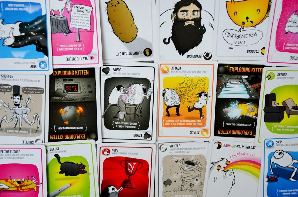 Exploding Kittens Review Exploding Kittens Card Game Exploding Kittens Kittens