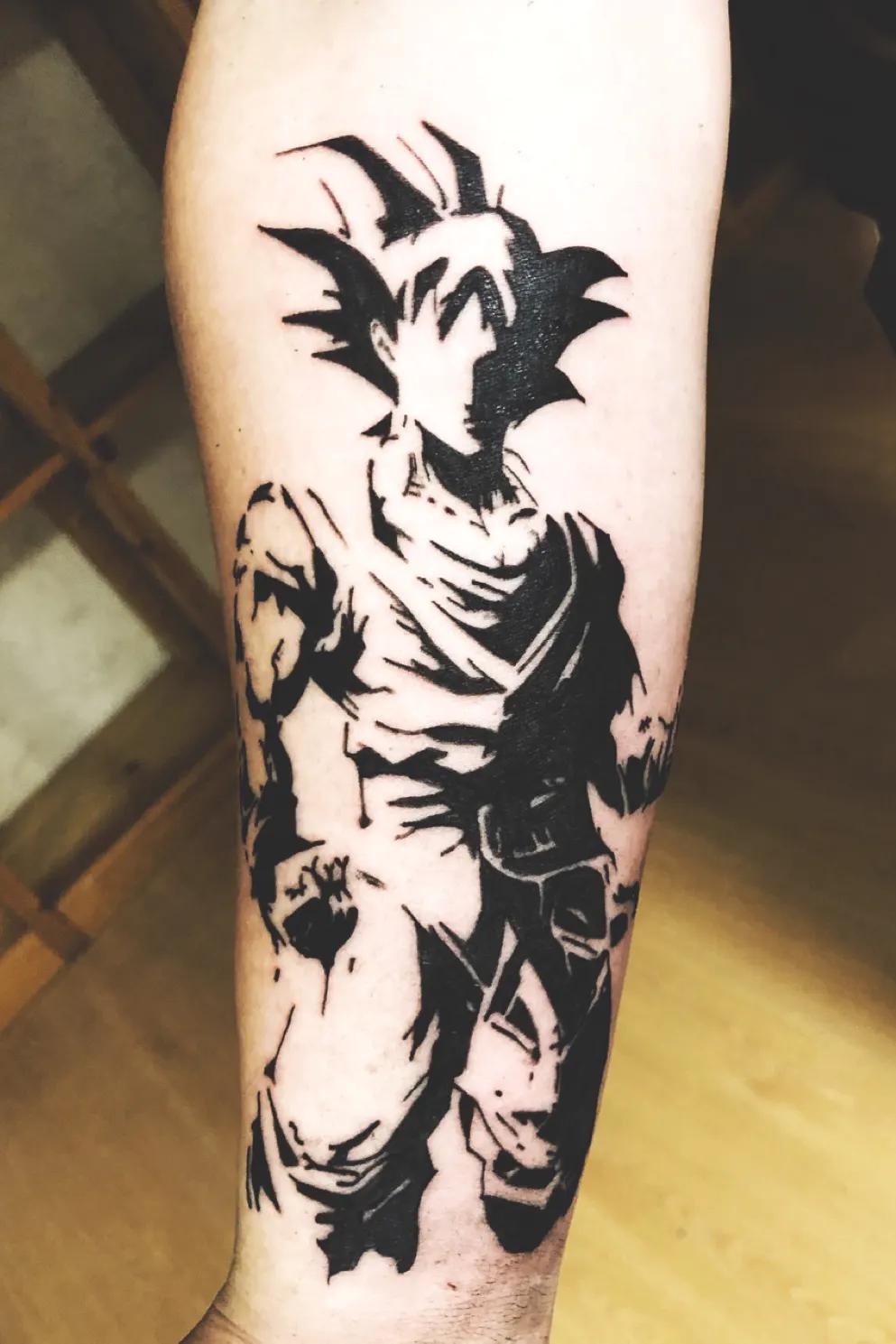 Imgur Dragon Ball Tattoo Z Tattoo Dbz Tattoo