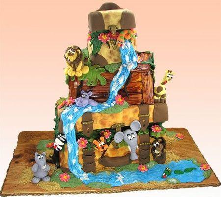 animalcakesforkidsbirthday Free Cake Decorating Videos
