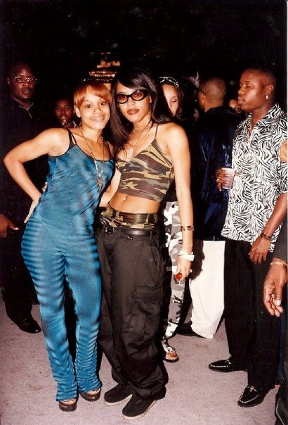 Aaliyah and Lisa Lopes - two of the brightest lights in the music industry #gonetoosoon