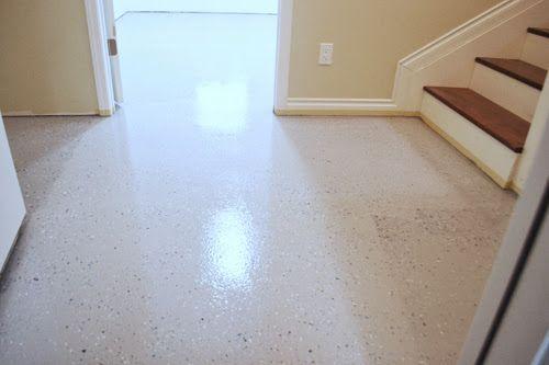 Basement Floor Epoxy Coating Ana White Epoxy Floor Painting Basement Floors Basement Flooring