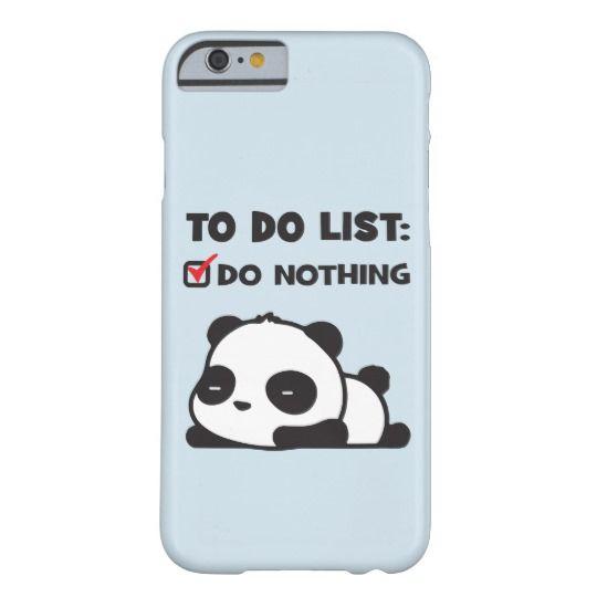 Lazy Panda iPhone 11 case