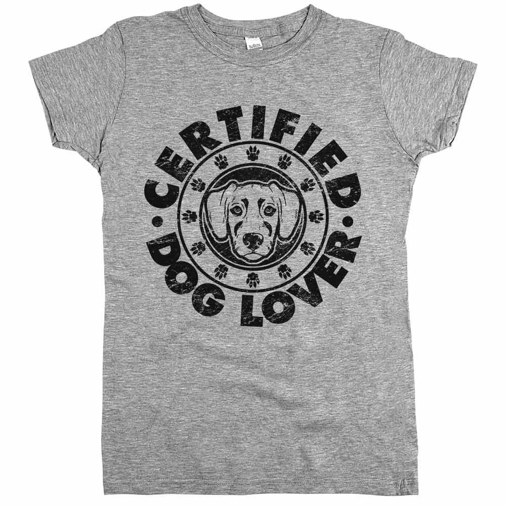 Certified Dog Lover t-shirt