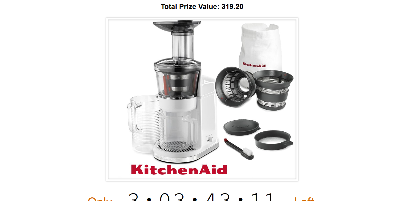 Enter to Win KitchenAid Maximum Extraction Slow Juicer   KitchenAid ...