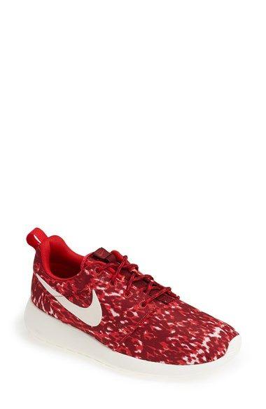 new styles 89805 7b229 Nike  Roshe Run  Print Sneaker (Women) Action Red  Sail Size 12 M -  80 on  Vein - getvein.com