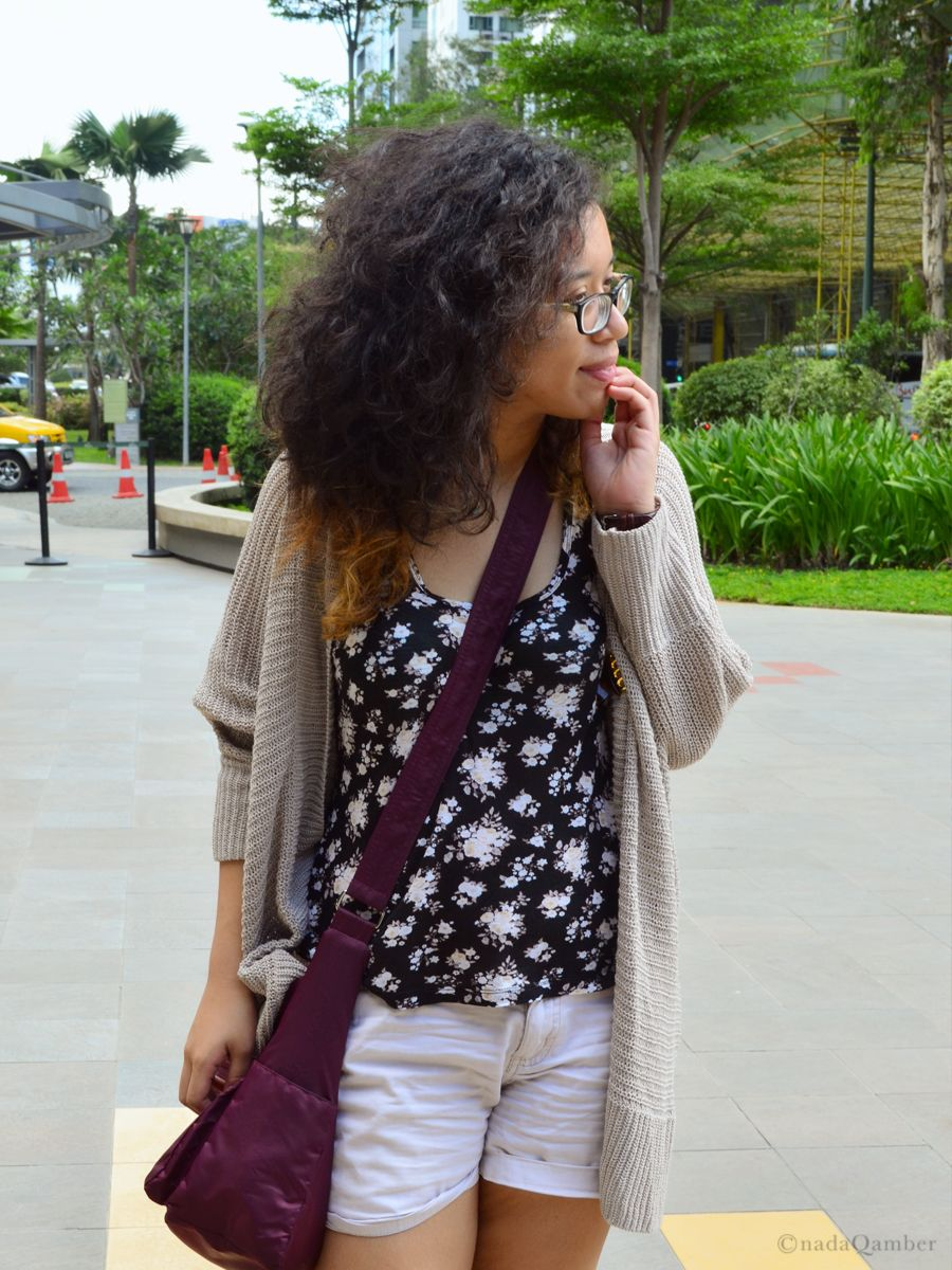 Summer Outfit + Curly Hair
