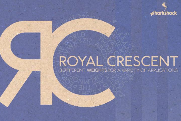 Download Royal Crescent (Font) by Sharkshock