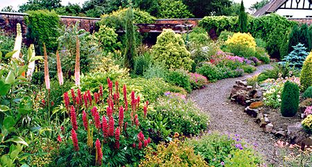 Victorian Walled Garden. Winsford Walled Garden is located ...