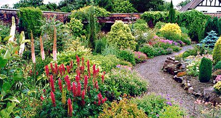 Victorian Walled Garden. Winsford Walled Garden is located ...