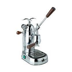 La Pavoni Gran Romantica de Luxe Grl Espressomaschine silber La PavoniLa Pavoni #espressocoffee