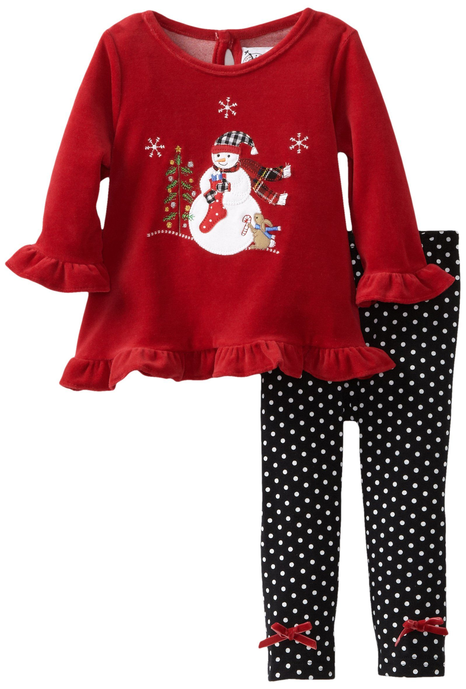 SOPO Baby Boy Christmas 2 Pc Outfits 5t 1-5Y Red Hoodie Jacket /& Pants