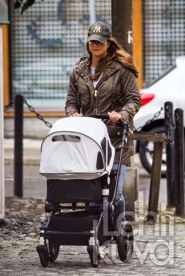 Princess Madeleine and Chris O'Neiil have been seen in Stockholm with her daughter Leonore
