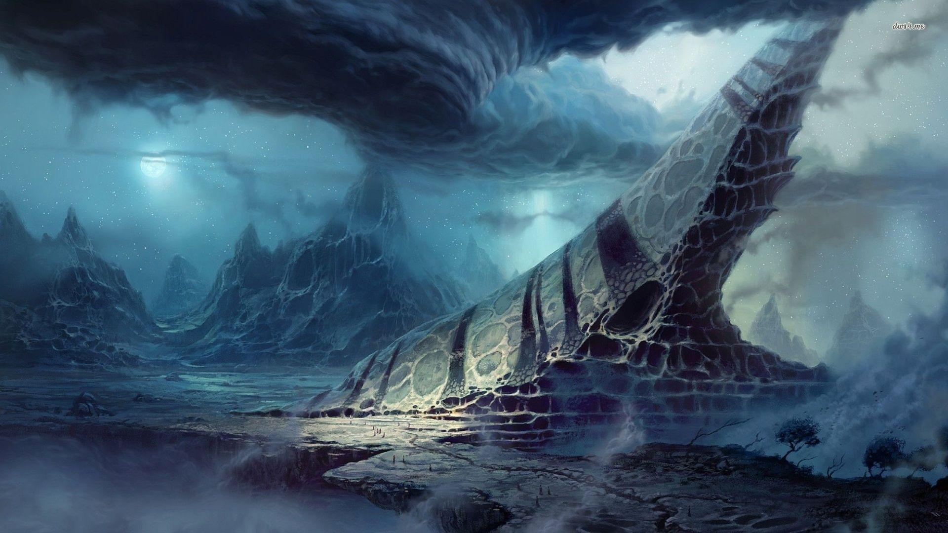 Images For > Fantasy Landscape Desktop Wallpaper Fantasy