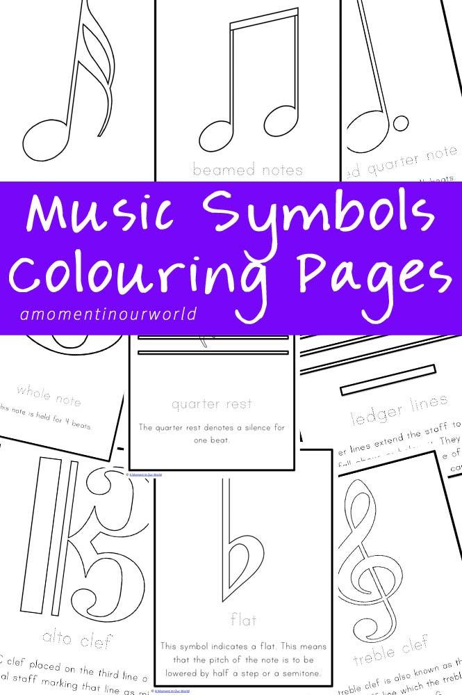 Free Printables Archives  Homeschool A well and Music symbols