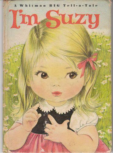 I'm Suzy 1966 Whitman Big Tell-a-Tale Book Dorotha Ruthstrom Beagle - vintage children's book