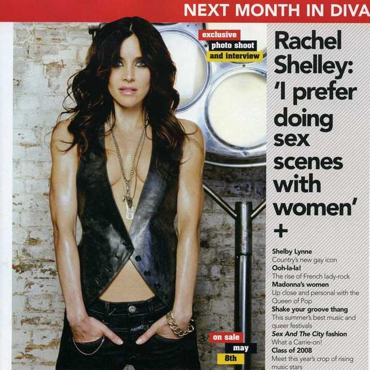 Rachel Shelley Diva