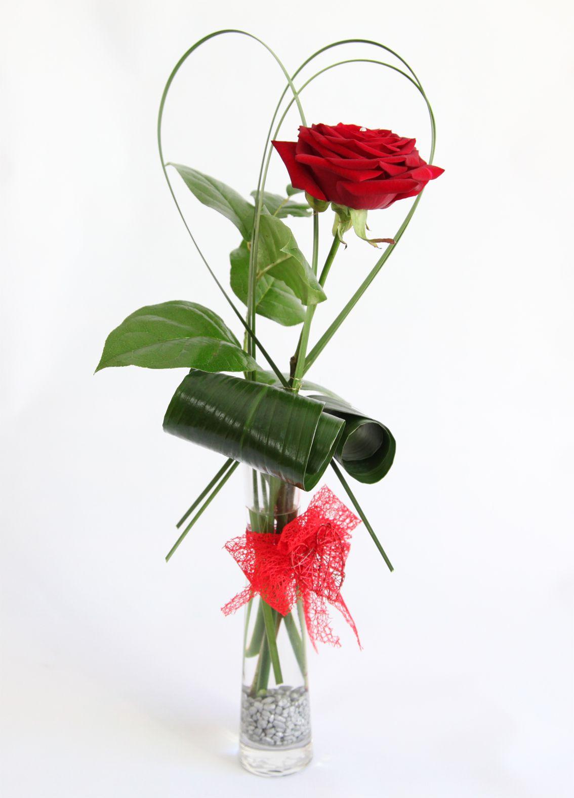 Beautiful Single Flower Vase Daughters Wedding Pinterest