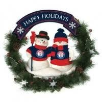 Texas Rangers AND Snowmen..what more is there to love?