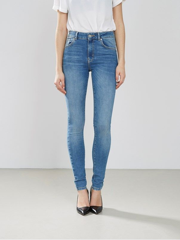 fdaee796 Higher Flex Emma jeans | | Blå | BikBok | Sverige | SS17 | Kläder
