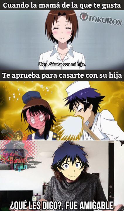 Mas Madres Asi Unu Bonnet Kyun Sigueme Para Mas Anime Meme En Espanol Memes De Anime Meme De Anime Memes Divertidos