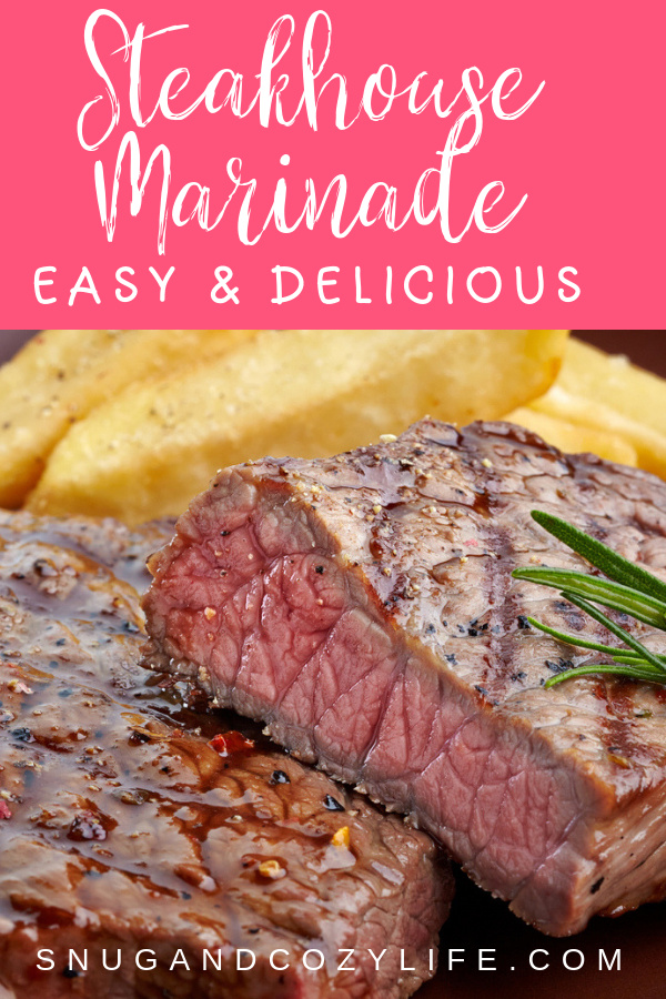 Steakhouse Marinade Recipe | Perfect for Beef, Pork, or Chicken