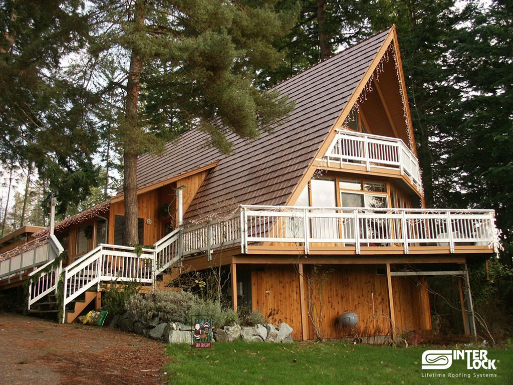 Seattle S Best Roof Interlock Metal Roofing Washington Usa Metal Roofing Systems Shake Roof Roof Styles