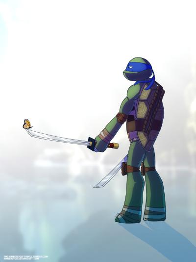Tmnt 2k12 Leonardo Tumblr Teenage Ninja Turtles Leonardo Tmnt