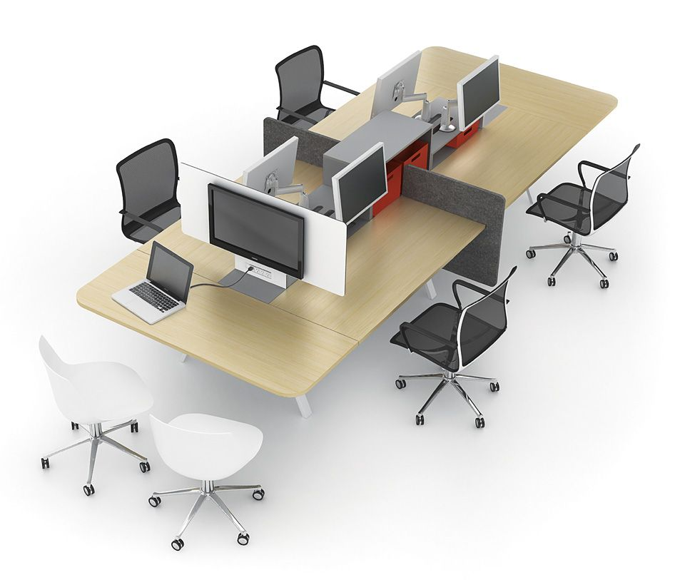our collection of modern modular office furniture features and benching systems that will ignite and creativity in