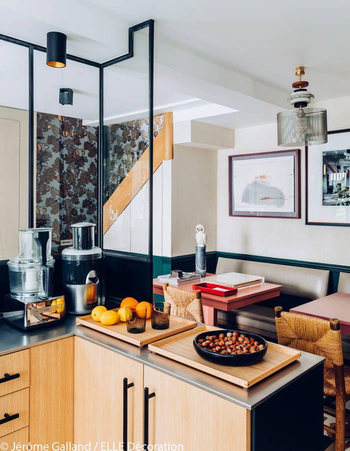 Un ancien garage transformé en maison cosy - Elle Décoration | Interiors