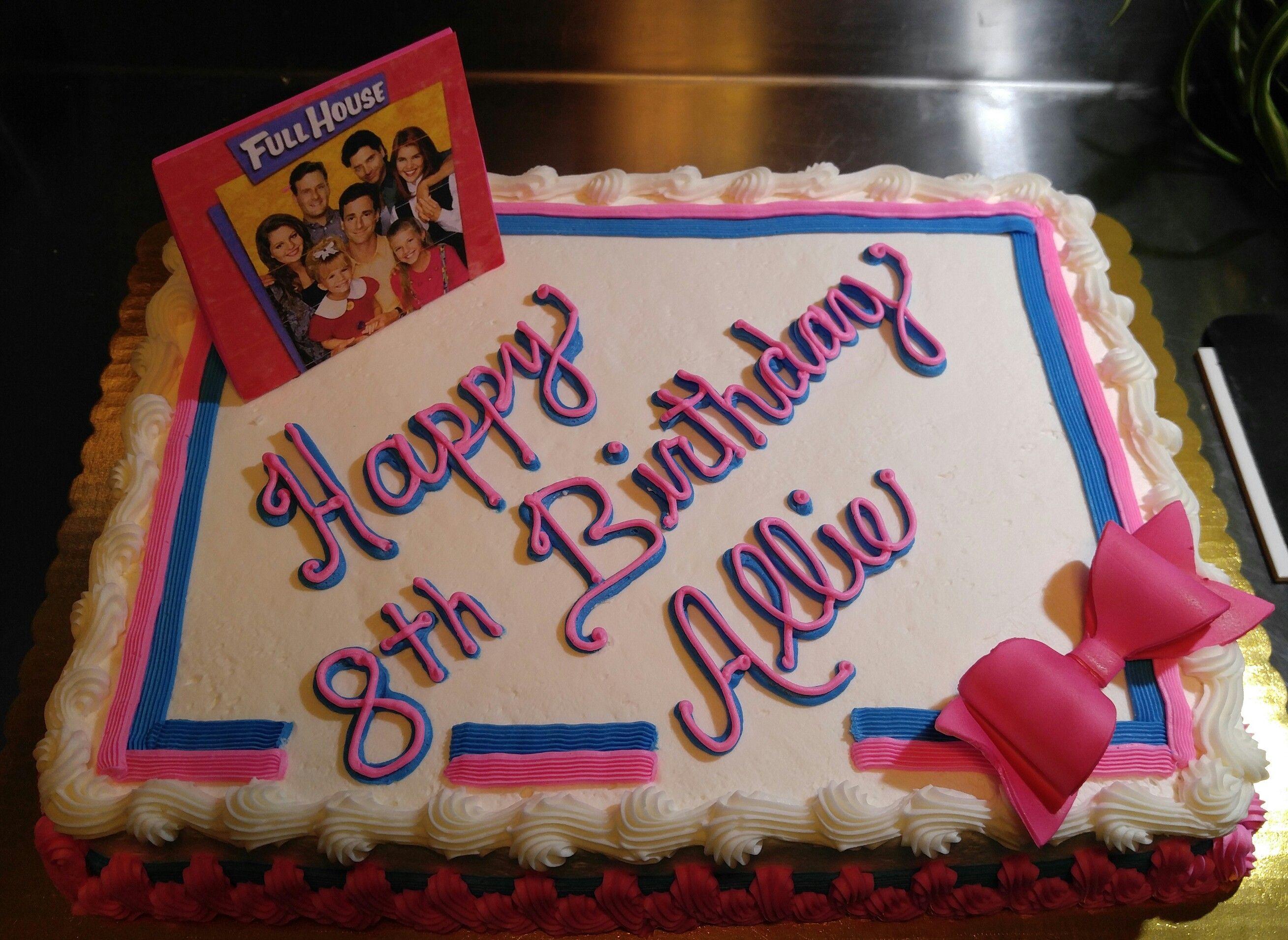 Super Full House Birthday Cake Vintagebakery Com 803 386 8806 With Funny Birthday Cards Online Benoljebrpdamsfinfo